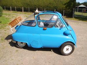 1956 bmw isetta the original bubble car