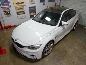 2015 BMW M3 Sedan (F80)  Hot~Seats 6-Speed Manual $47.9k