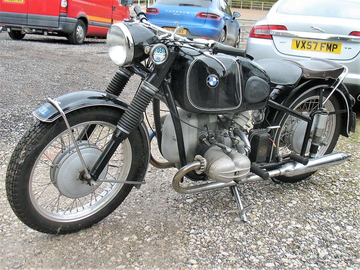 1954 BMW R68 for sale. For Sale (picture 1 of 6)