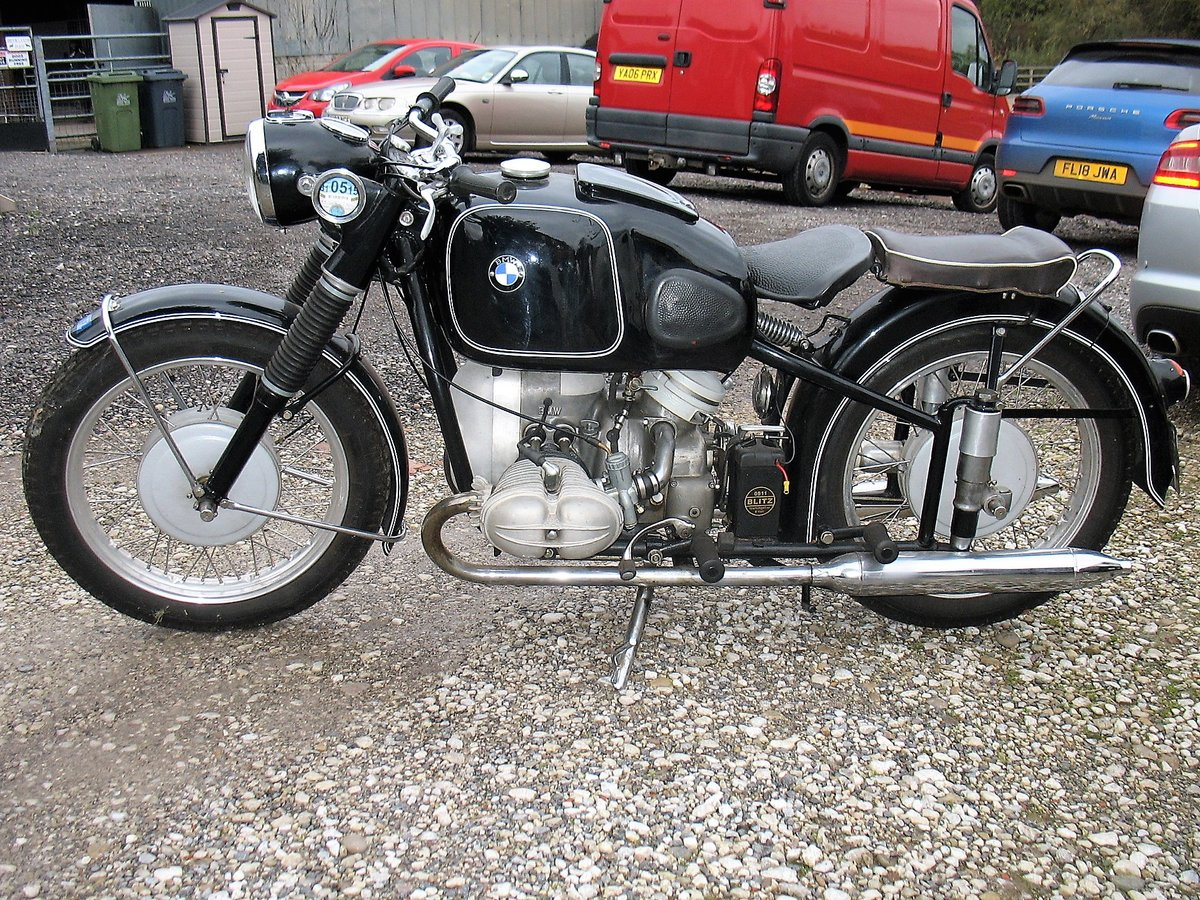 1954 BMW R68 for sale. For Sale (picture 2 of 6)