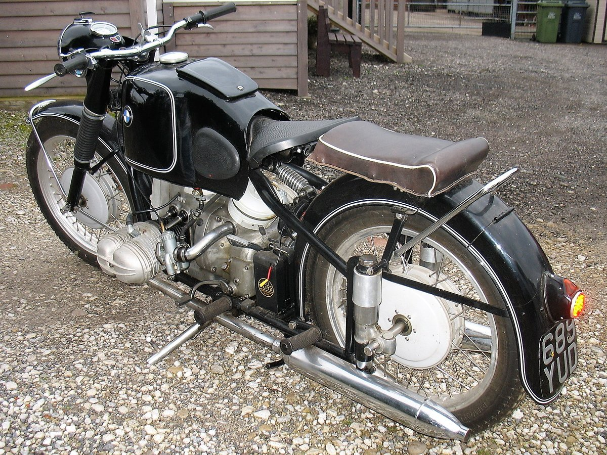 1954 BMW R68 for sale. For Sale (picture 3 of 6)
