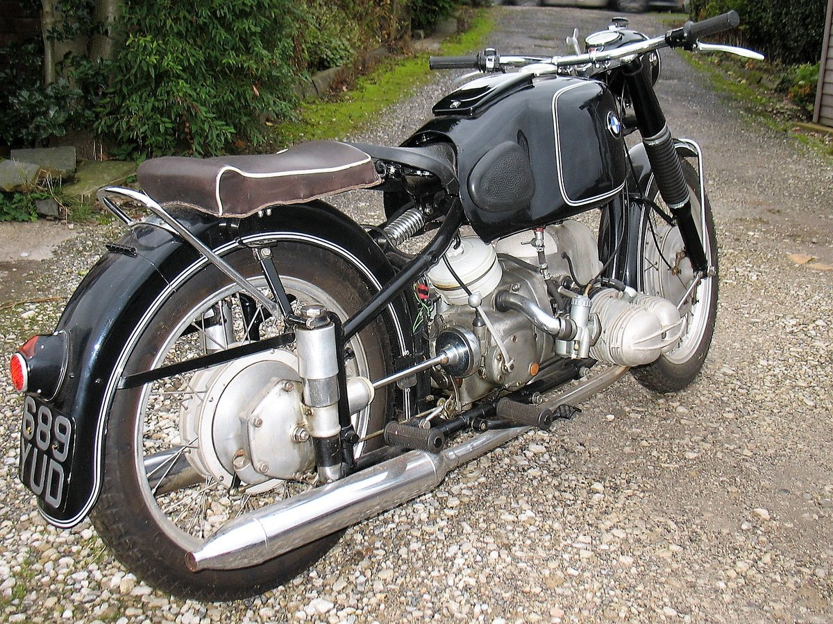 1954 BMW R68 for sale. For Sale (picture 4 of 6)