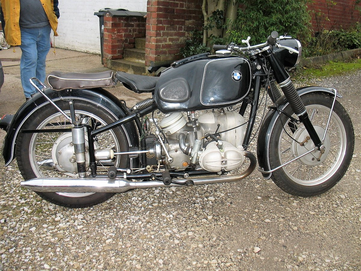 1954 BMW R68 for sale. For Sale (picture 5 of 6)
