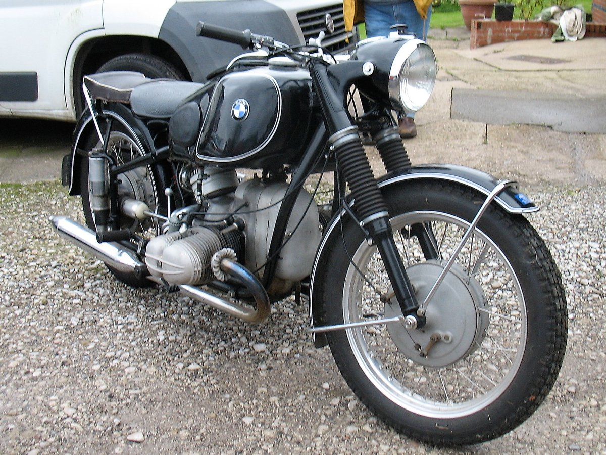 1954 BMW R68 for sale. For Sale (picture 6 of 6)