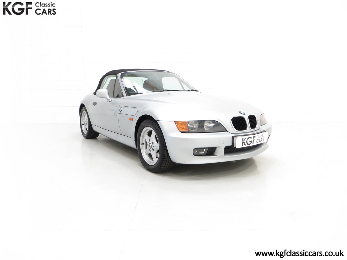 1999 A Splendid BMW Z3 1.9i with Just 48,012 Miles from New For Sale (picture 1 of 6)