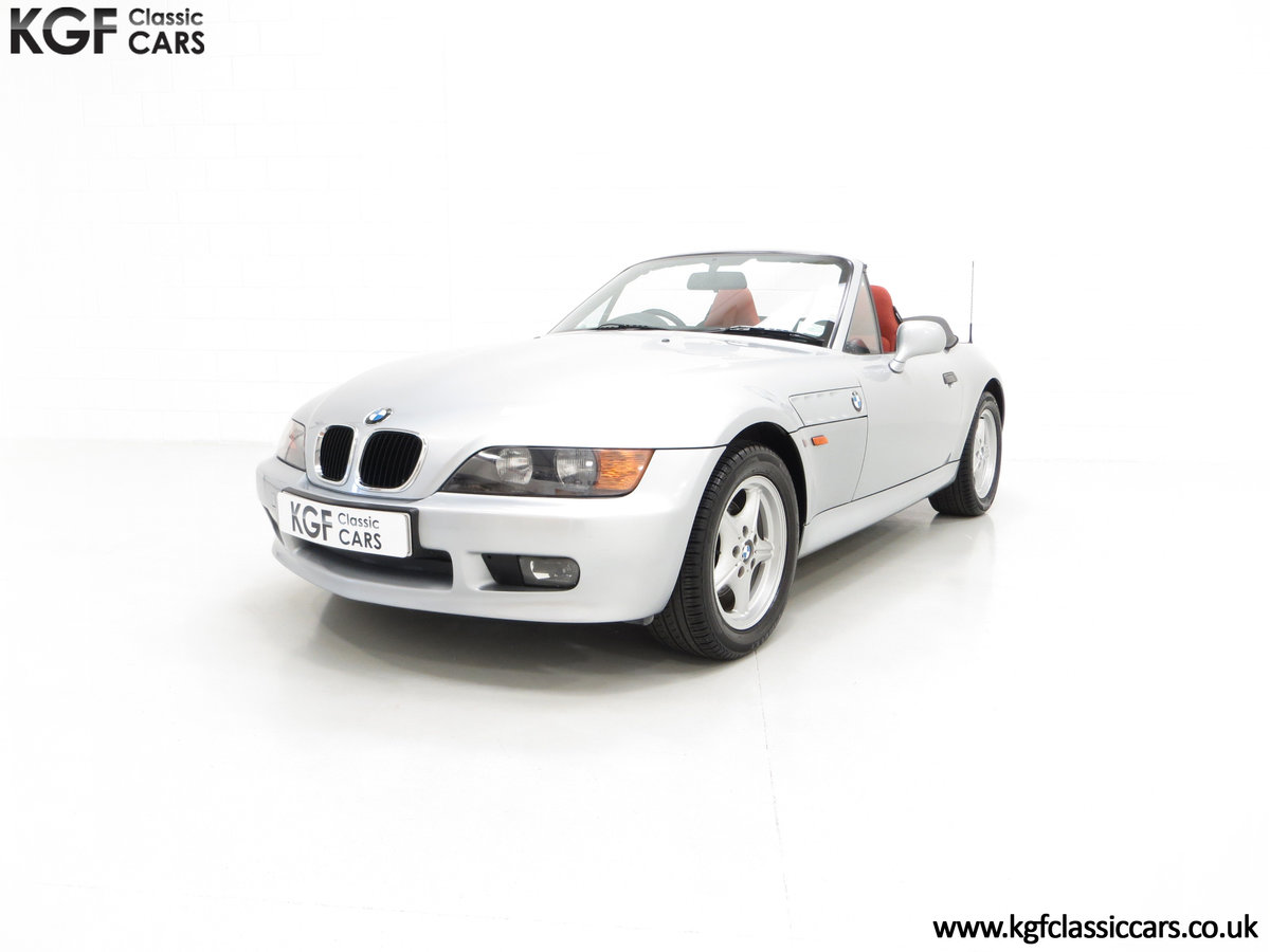 1999 A Splendid BMW Z3 1.9i with Just 48,012 Miles from New For Sale (picture 2 of 6)