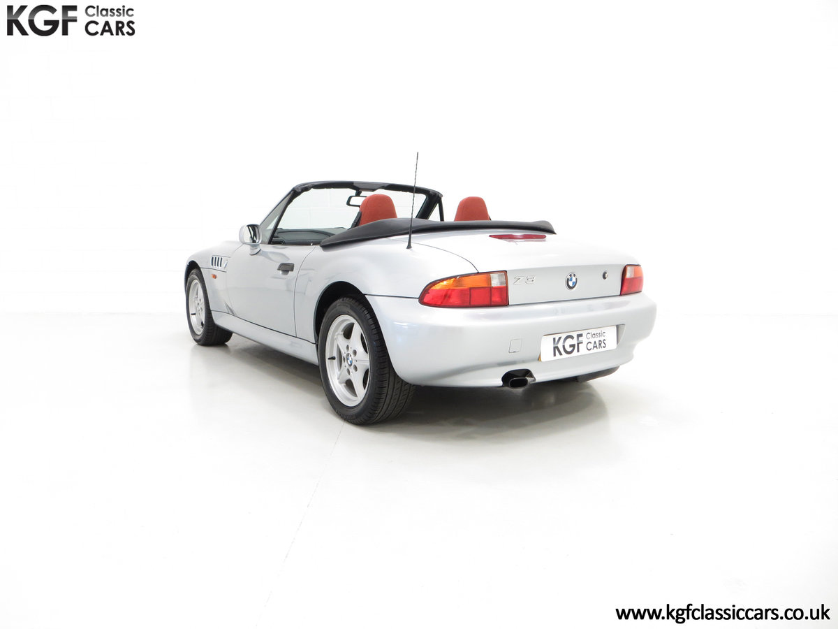 1999 A Splendid BMW Z3 1.9i with Just 48,012 Miles from New For Sale (picture 4 of 6)