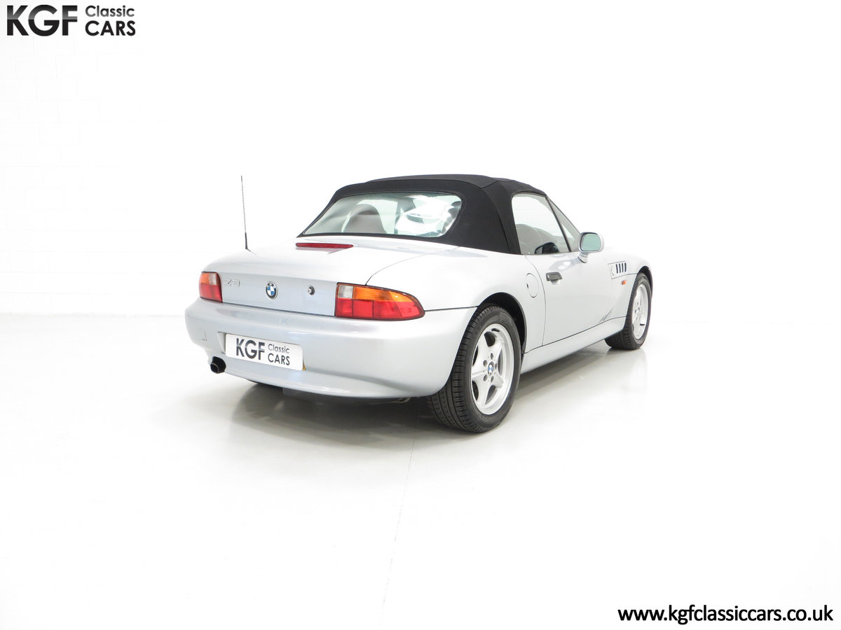 1999 A Splendid BMW Z3 1.9i with Just 48,012 Miles from New For Sale (picture 5 of 6)
