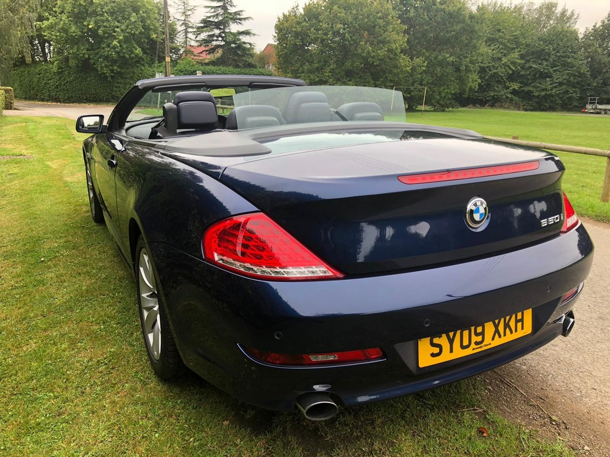 2009 BMW 650I v8 MANUAL FULL SERV HST 2 FORMER KEEPERS VGC For Sale (picture 4 of 6)