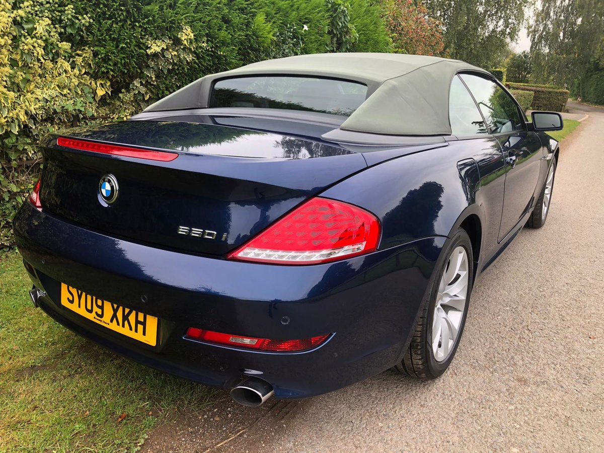 2009 BMW 650I v8 MANUAL FULL SERV HST 2 FORMER KEEPERS VGC For Sale (picture 5 of 6)