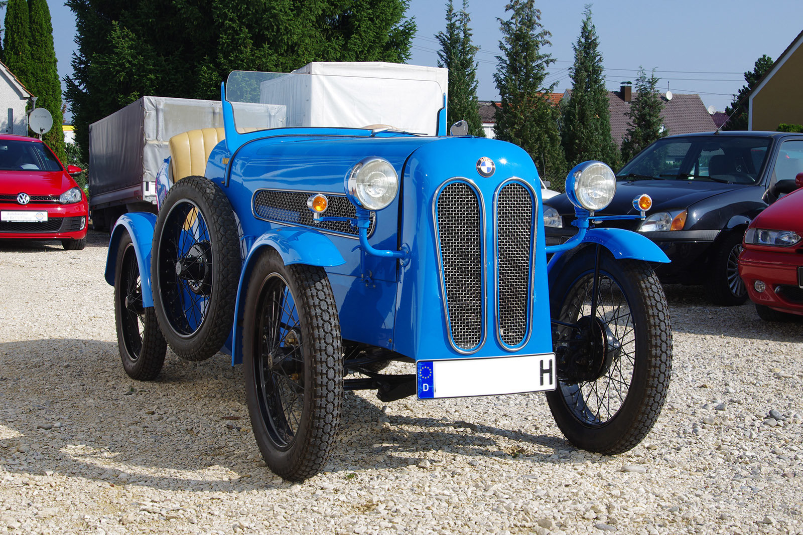 1929 BMW DIXI DA1 * Ihle-Roadster * restored * rare For Sale (picture 2 of 6)
