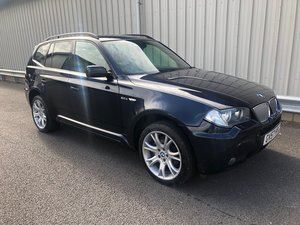 2007 57 BMW X3 3.0 D M SPORT AUTO 218 BHP 4X4 ESTATE  For Sale