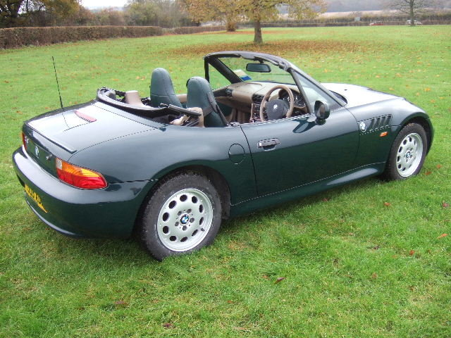 1999 BMW Z3 1.9i Roadster only 34000 miles For Sale (picture 2 of 6)