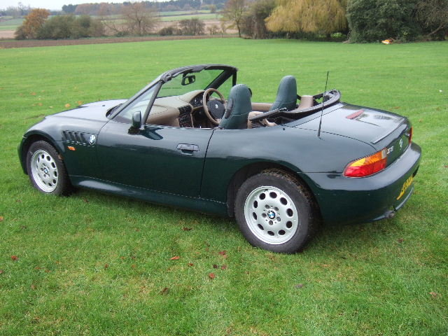 1999 BMW Z3 1.9i Roadster only 34000 miles For Sale (picture 3 of 12)