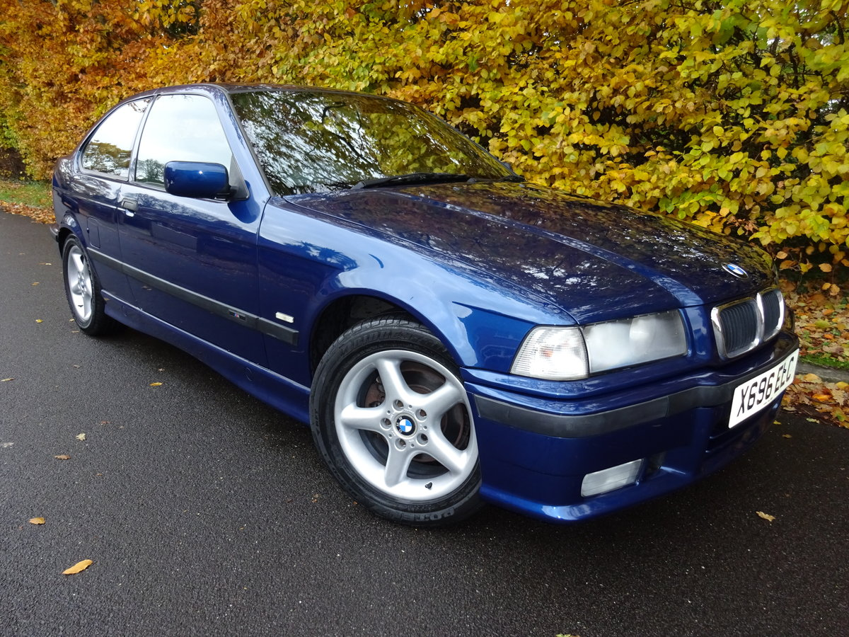 2000 BMW Compact M Sport *52,000 Miles 1.9 316i E36 For Sale (picture 1 of 6)