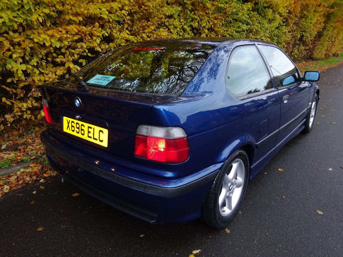 2000 BMW Compact M Sport *52,000 Miles 1.9 316i E36 For Sale (picture 3 of 6)