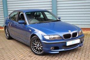 2002 BMW 320d M Sport Saloon 190bhp 5-Speed Manual SOLD