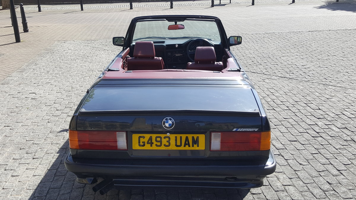 1990 BMW E30 320i Zender Edition  For Sale (picture 6 of 6)