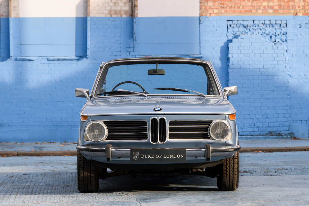 1973 BMW 2002 Baur Cabriolet For Sale (picture 4 of 14)