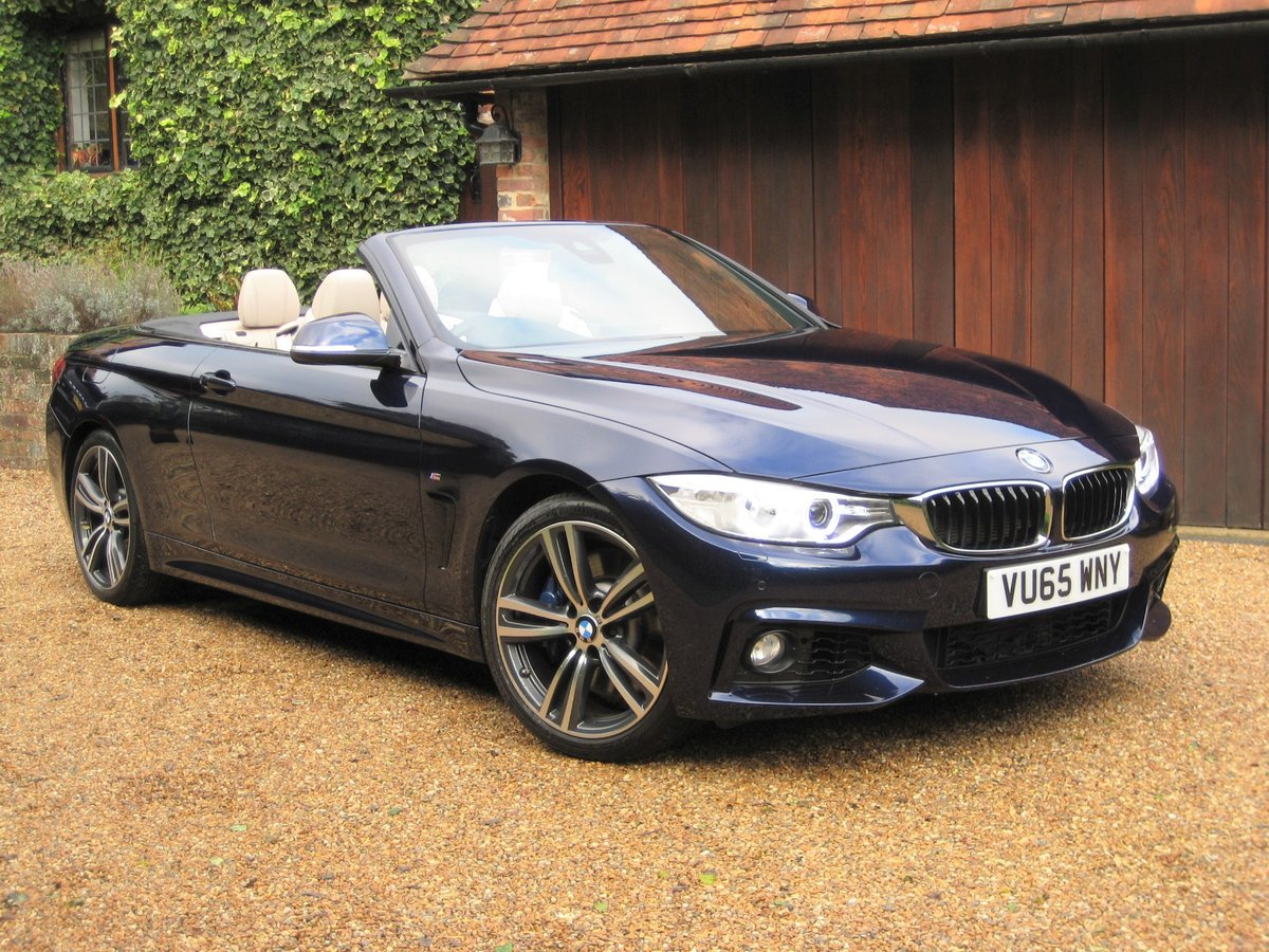 2015 BMW 435i M Sport Convertible 1 Owner With £8k Of Options For Sale (picture 2 of 6)
