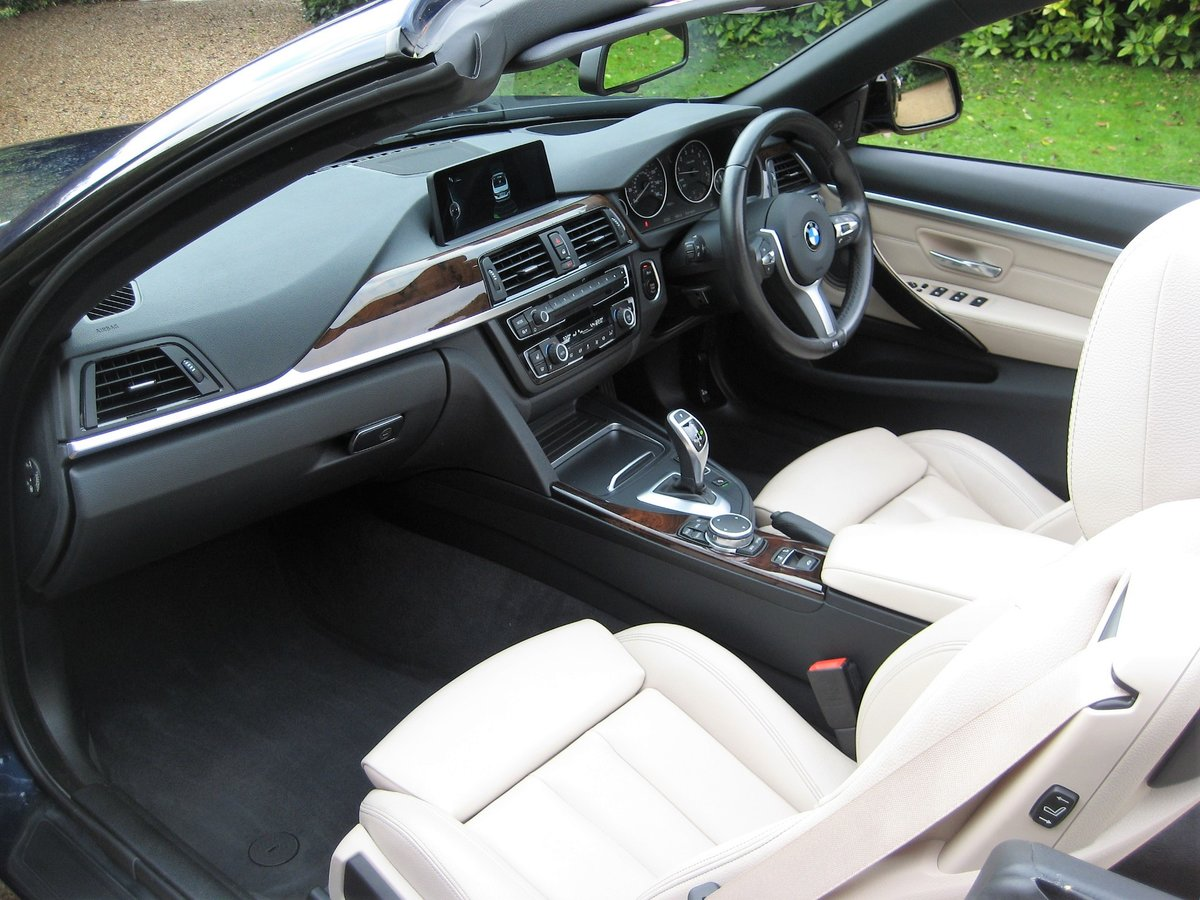 2015 BMW 435i M Sport Convertible 1 Owner With £8k Of Options For Sale (picture 3 of 6)