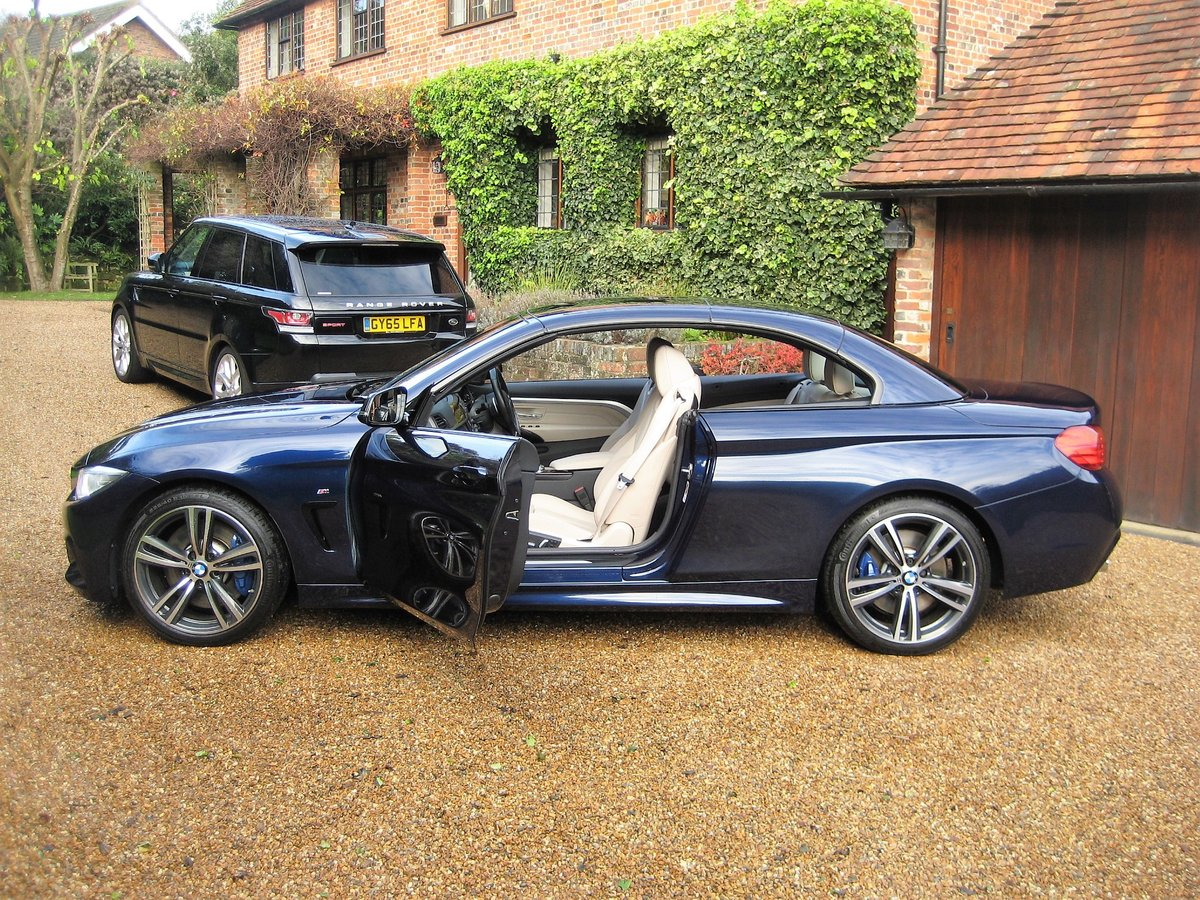 2015 BMW 435i M Sport Convertible 1 Owner With £8k Of Options For Sale (picture 5 of 6)