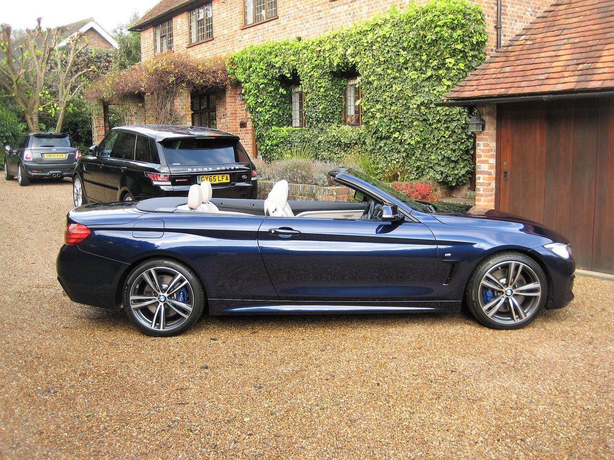 2015 BMW 435i M Sport Convertible 1 Owner With £8k Of Options For Sale (picture 6 of 6)