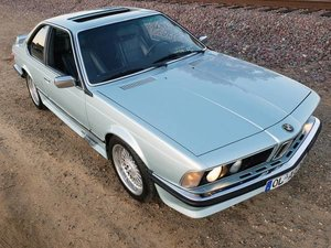 1985 1984 BMW 635CSi Euro Rare TURBO Sapphireblau Color $16.9k For Sale