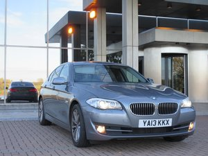 2013 BMW 520d SE in stunning metallic space Immaculate