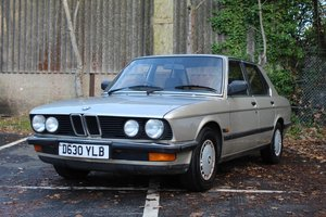 BMW 525 E Auto 1986 - To be auctioned 31-01-20 For Sale by Auction