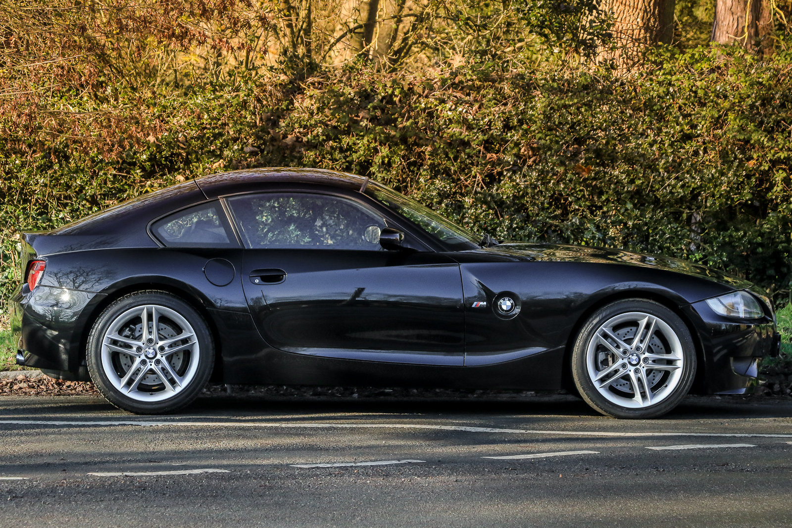 2006 BMW Z4M Coupe Sapphire Black with Inspection II Service For Sale (picture 3 of 6)