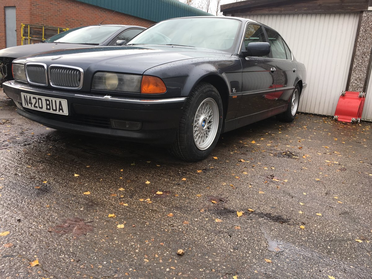 1995 Bmw 740 il  4.0l v8,needs recommissioning ,may p/x For Sale (picture 1 of 6)