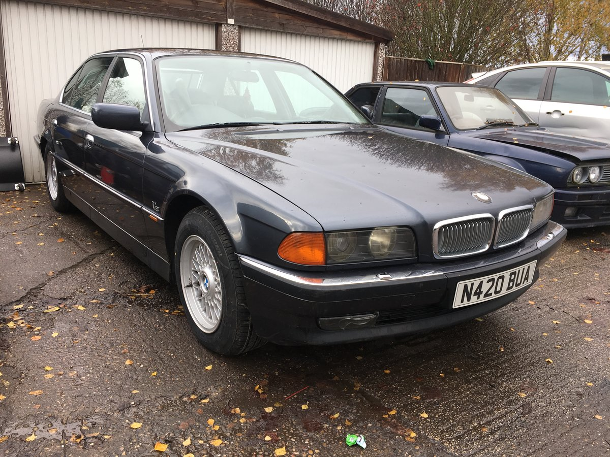 1995 Bmw 740 il  4.0l v8,needs recommissioning ,may p/x For Sale (picture 2 of 6)