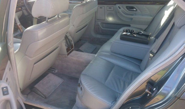 1995 Bmw 740 il  4.0l v8,needs recommissioning ,may p/x For Sale (picture 4 of 6)