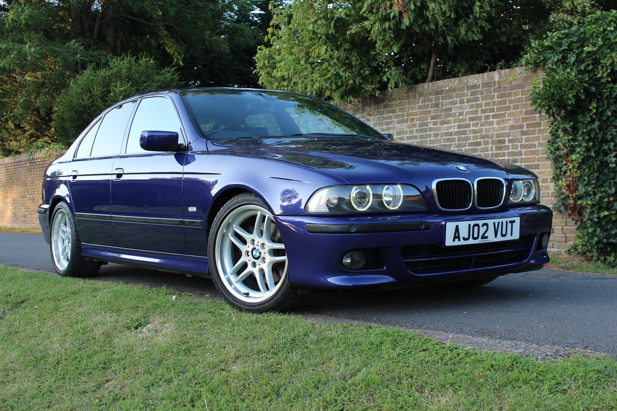 2002 BMW E39 530i Sport Individual Velvet Blue *SIMILAR REQUIRED* SOLD (picture 1 of 6)