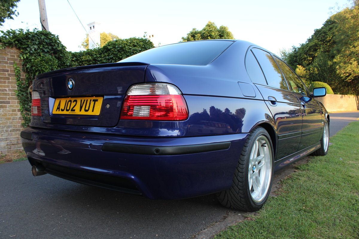 2002 BMW E39 530i Sport Individual Velvet Blue *SIMILAR REQUIRED* SOLD (picture 2 of 6)