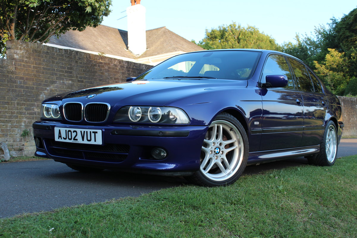 2002 BMW E39 530i Sport Individual Velvet Blue *SIMILAR REQUIRED* SOLD (picture 3 of 6)