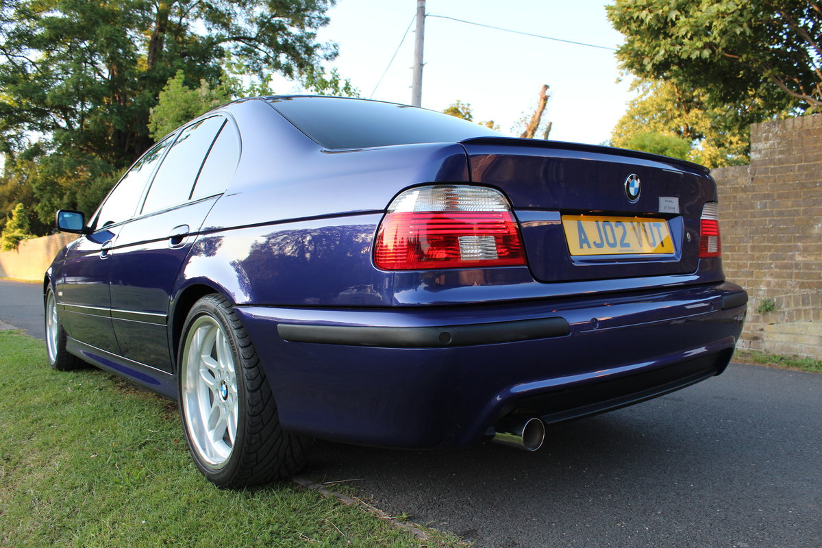 2002 BMW E39 530i Sport Individual Velvet Blue *SIMILAR REQUIRED* SOLD (picture 4 of 6)