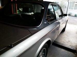 1972 BMW 3.0 cs automatic RHD in UK