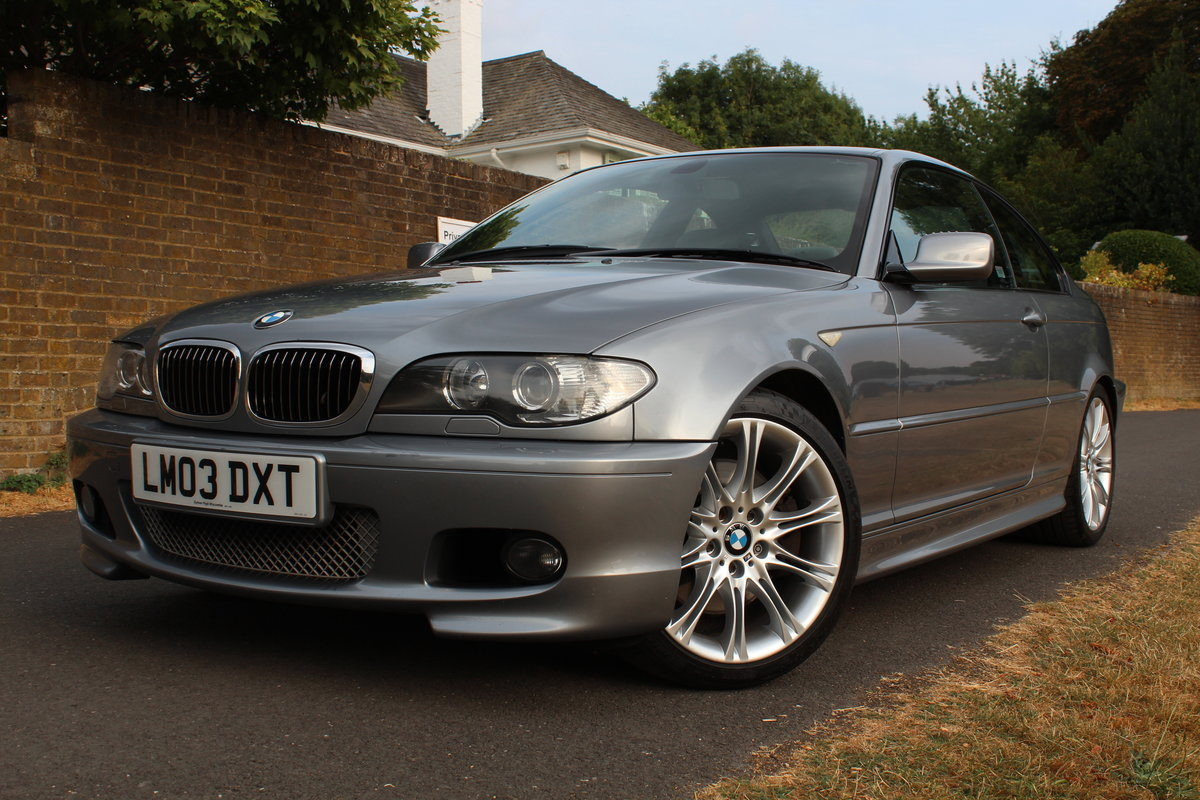 2002 BMW 330CI SPORT *SOLD SIMILAR ALWAYS REQUIRED* SOLD (picture 1 of 6)