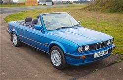 1991 318i Cabriolet - Tuesday 10th December 2019 For Sale by Auction