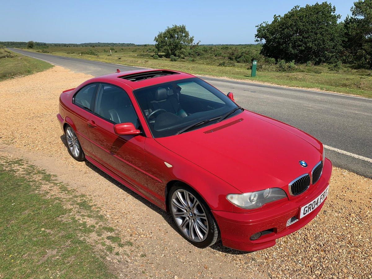 2004 BMW e46 330ci Msport. low mileage SOLD (picture 1 of 6)