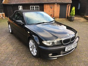 2005 BMW 330 CD Sport Convertible For Sale by Auction