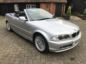 2001 BMW E46 320 Automatic Convertible For Sale by Auction