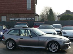 BMW Z3 3.0i COUPE AUTOMATIC LHD + 2001 + LOW MILES