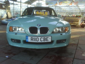 1998 Z3 Lovely convertible long mot