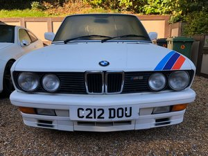 1986 Who wants an E28 for Christmas? For Sale