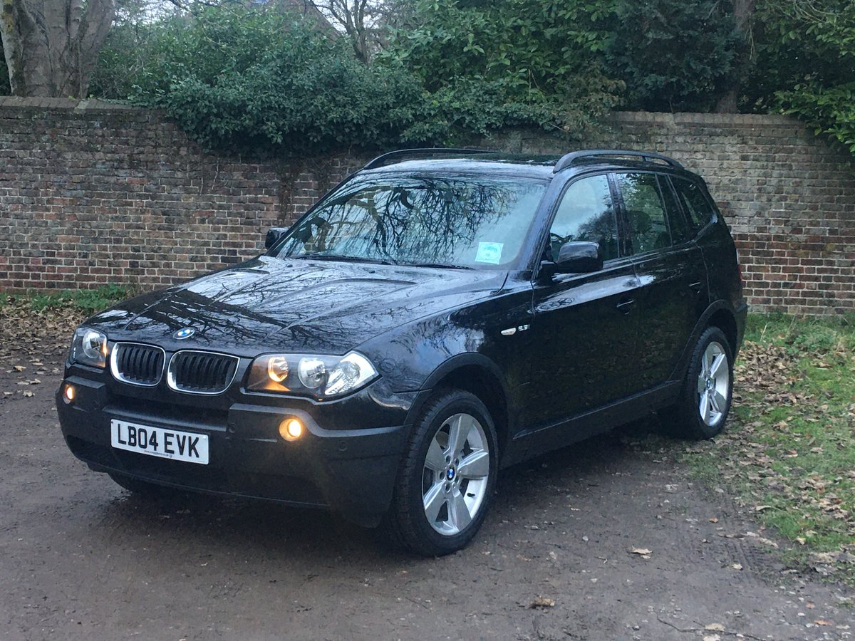 2004 Amazing 20,000 mile BMW X3 Auto 1 owner full spec For Sale (picture 1 of 6)