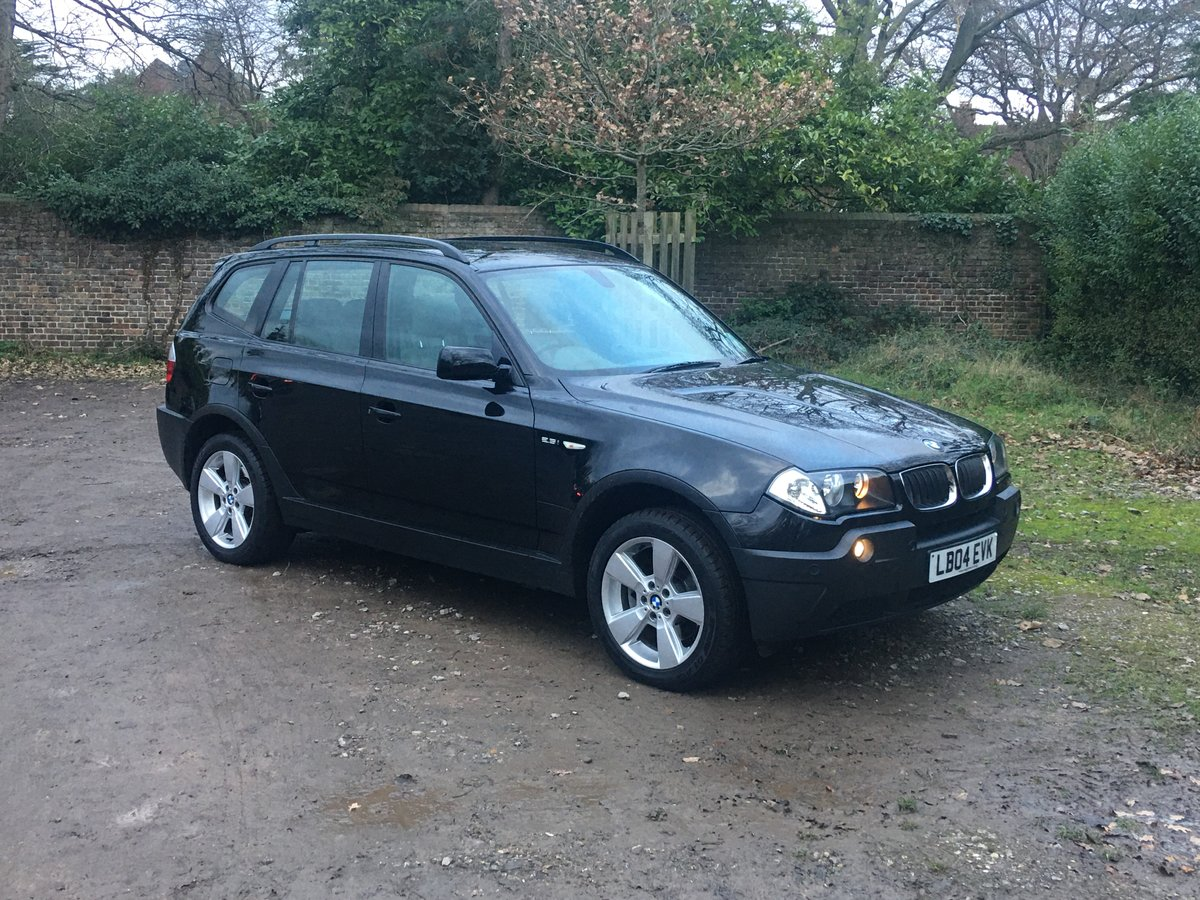 2004 Amazing 20,000 mile BMW X3 Auto 1 owner full spec For Sale (picture 2 of 6)