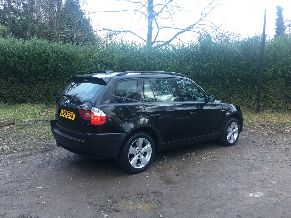 2004 Provisionally Sold BMW X3 Auto 1 owner full spec SOLD (picture 3 of 6)